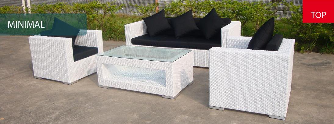 gartenmobel lounge liege rattan set quadro Polyrattan möbel => Rattan Gartenmobel Lounge Polyrattan Set Quadro